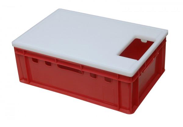 Schneidebrett für EURO Kisten - 600 x 400 x 20 mm