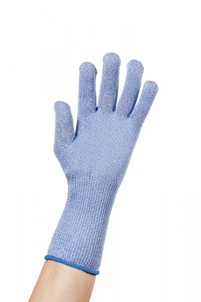 Schnittschutzhandschuh niroflex / Größe 9 - L - blau