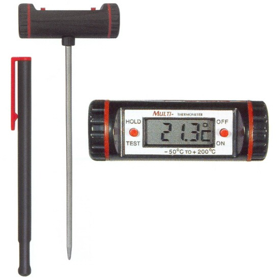 Temperatur Einstichthermometer Typ Multi