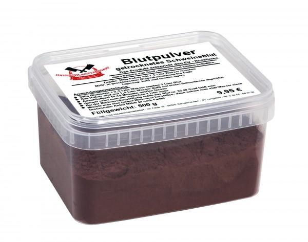 500 g Blutpulver - getrocknetes Schweineblut500 g Blutpulver - getrocknetes Schweineblut