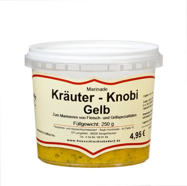 250 g Marinade Kräuter - Knobi gelb