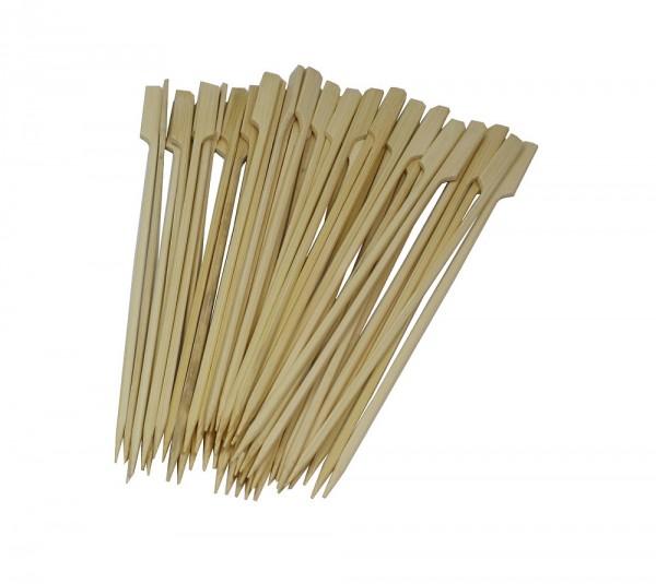 50 Stück Flaggenspiesse aus Bambus 200 mm - splitterfrei