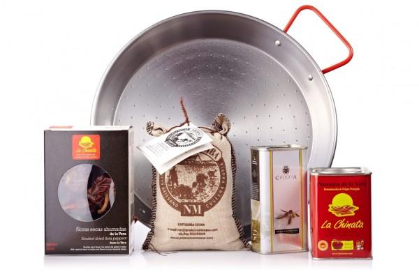 """Paella Pack """"La Chinata"""" für 4 Personen"""