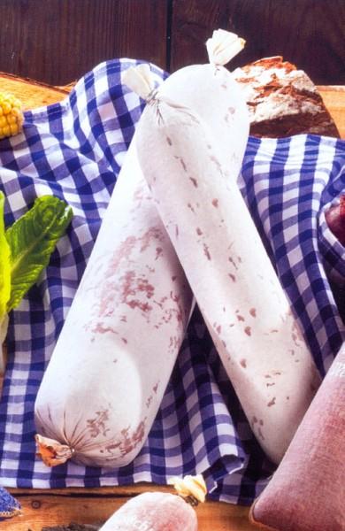 Textildarm für Salami mit Edelschimmeldruck - 60/40