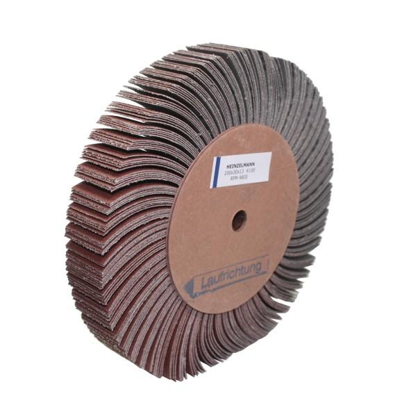 Lamellenschleifscheibe 200 x 30 x 13 mm - K 100