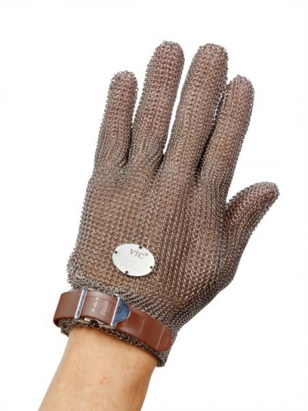 Stechschutzhandschuh Größe XXS - braun - links