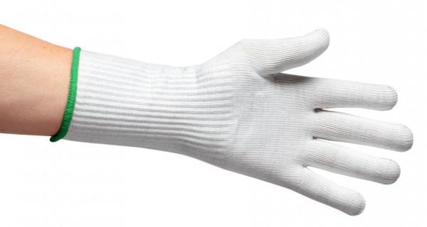 Schnittschutzhandschuh Größe 7 - grün - XS