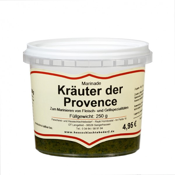 250 g Marinade Kräuter der Provence