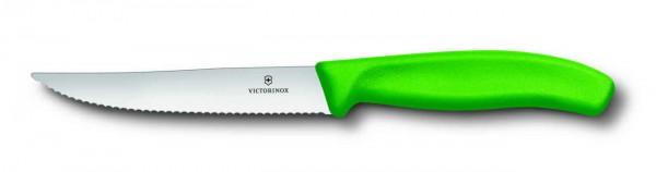 Victorinox Steak- und Pizzamesser - grün - 12 cm