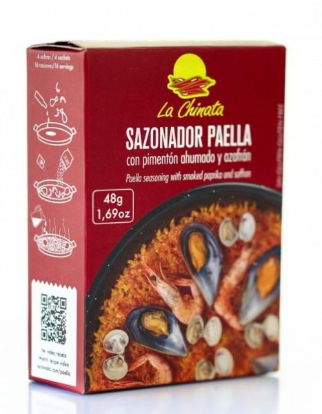 48 g Paella Gewürz mit geräucherten Paprika - La-Chinata