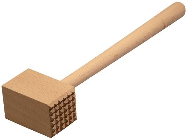 Fleischhammer, Fleischkloüfer, Holzkopf
