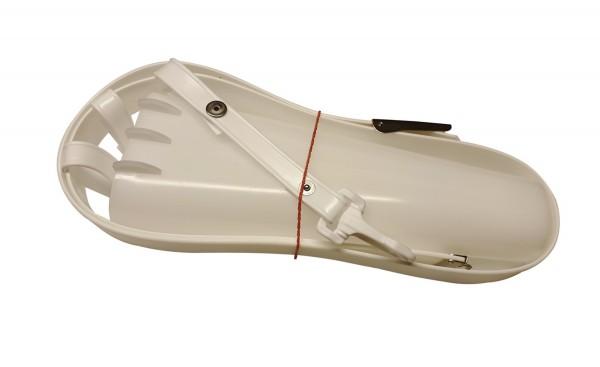 Messerköchergarnitur für 4 Messer komplett mit Gürtel in weiß