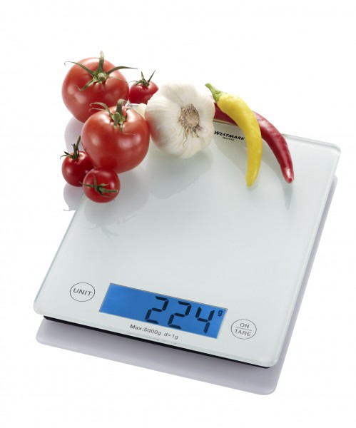 Küchenwaage »Elegance« - Wiegebereich bis 5000 g mit Abschaltautomatik