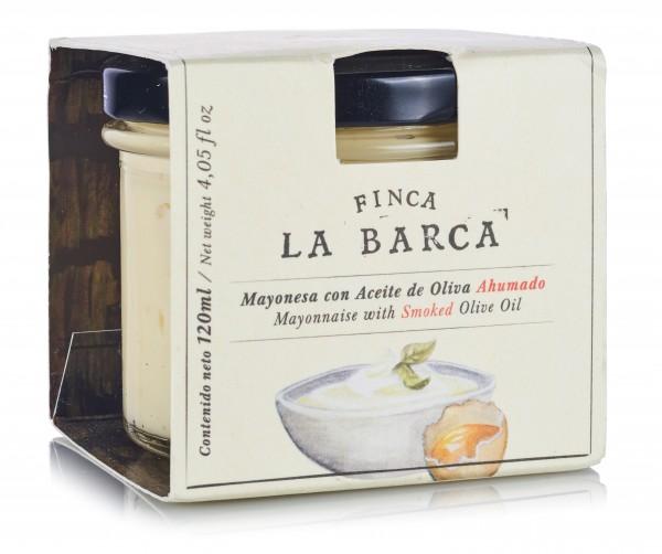 "Mayonnaise mit geräuchertem Olivenöl ""Finca La Barca"""