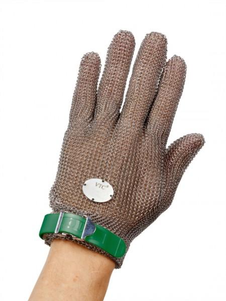 Stechschutzhandschuh Größe XS - grün - links