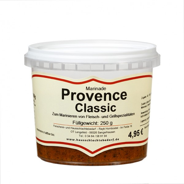250 g Marinade Provence Classic