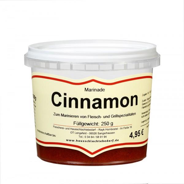 250 g Marinade Cinnamon