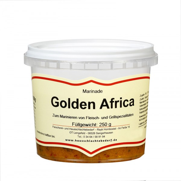 250g Marinade Golden Africa