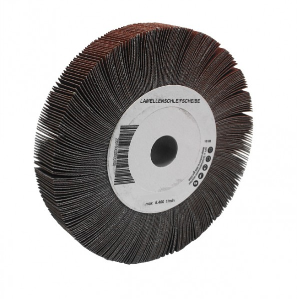 Lamellenschleifscheibe 130 x 25 x 15 mm