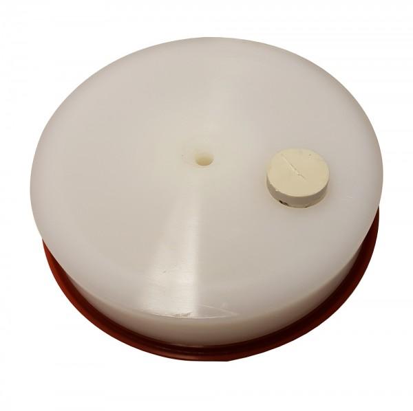 Druckplatte - Kolbenplatte für Wurstfüller der Firma Trespade 7 und 10 Liter