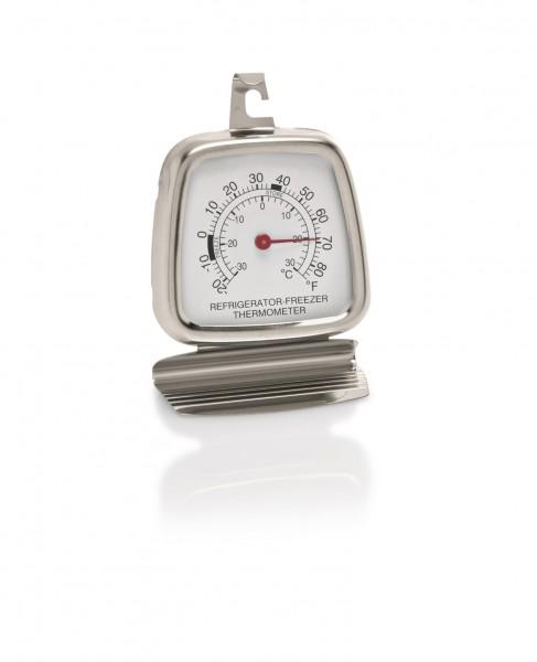 Kühlraumthermometer bis - 30°C - 6 x 8,5 cm aus Edelstahl