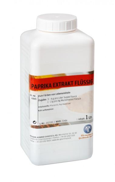 1 Liter Paprika Extrakt flüssig