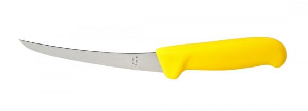 Spezial Ausbeinmesser 15 cm / flex. - gelber Griff