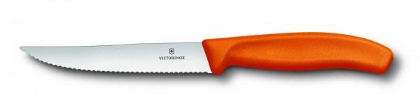 Victorinox Steak- und Pizzamesser - orange - 12 cm