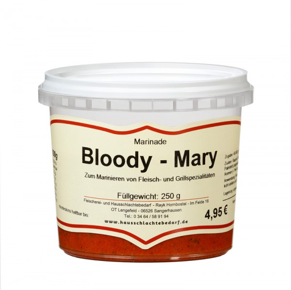 250 g Marinade Bloody-Mary