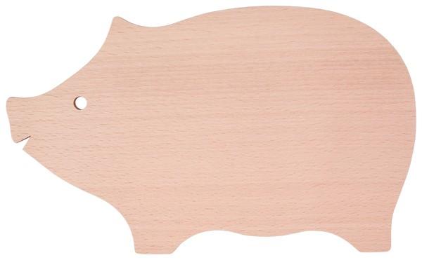 Servierbrett - Wurstbrett, Schinkenbrett, Schwein