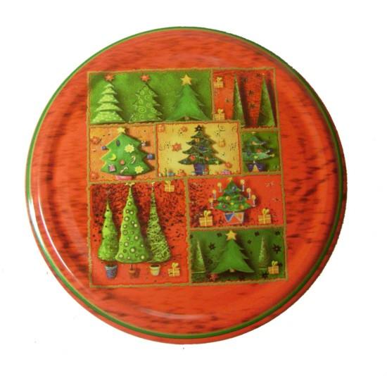 Deckel für Sturzgläser TWO 82 - rot - Weihnachten