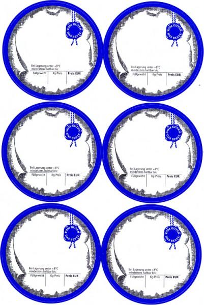 6 etiketten blank zum selbst beschriften etiketten fleischereibedarf. Black Bedroom Furniture Sets. Home Design Ideas