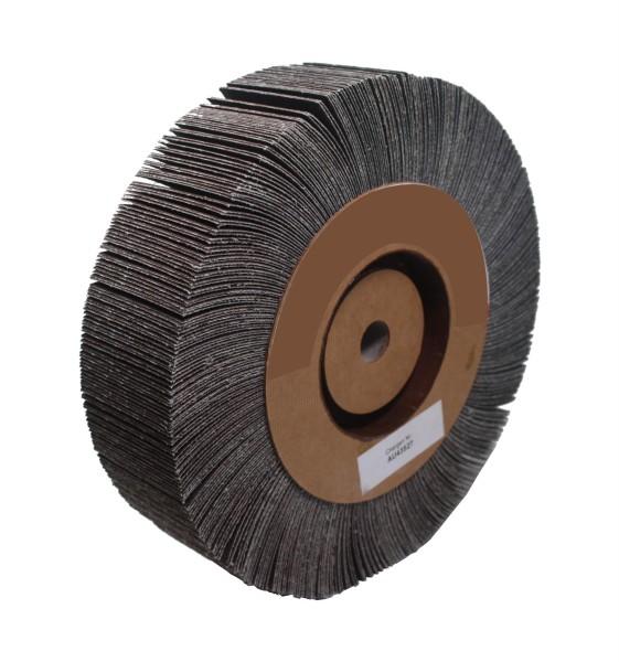 Lamellenschleifscheibe 200 x 50 x 16 mm - K 100