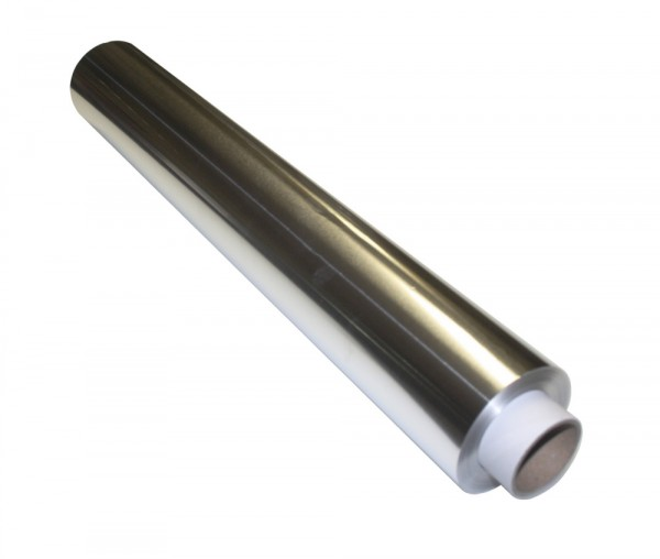 Aluminiumfolie Gastroqualität - 45 cm breit - 150 Meter lang / 14my