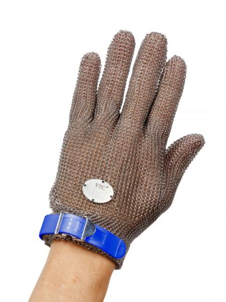 Stechschutzhandschuh Größe L - blau - links