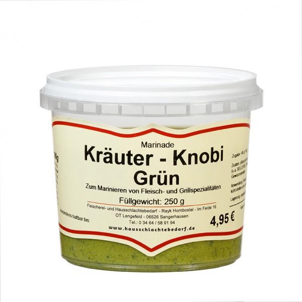 250 g Marinade Kräuter - Knobi grün
