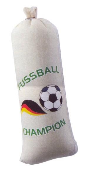 Textildarm mit Druck T 86 - Fussball Champion Kaliber: 55/21