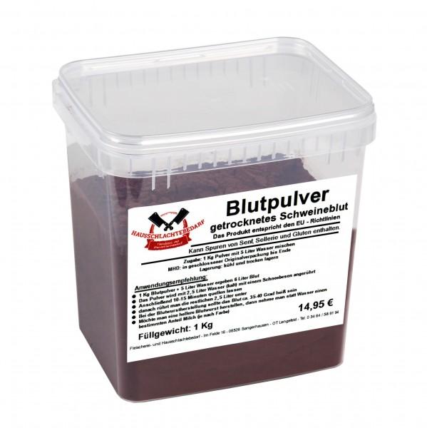 1 kg Blutpulver - getrocknetes Schweineblut