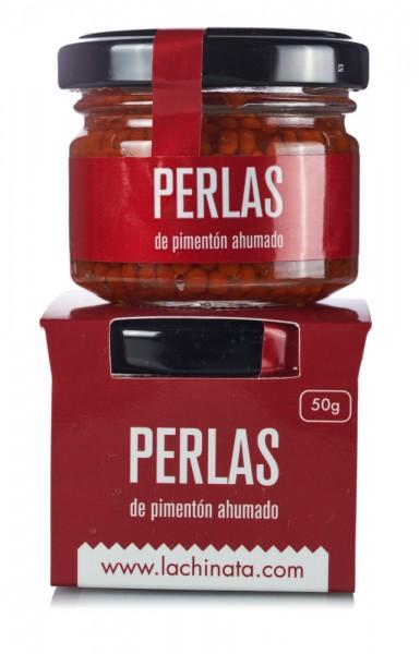"""50 g geräucherte Paprika Perlen """"La Chinata"""""""