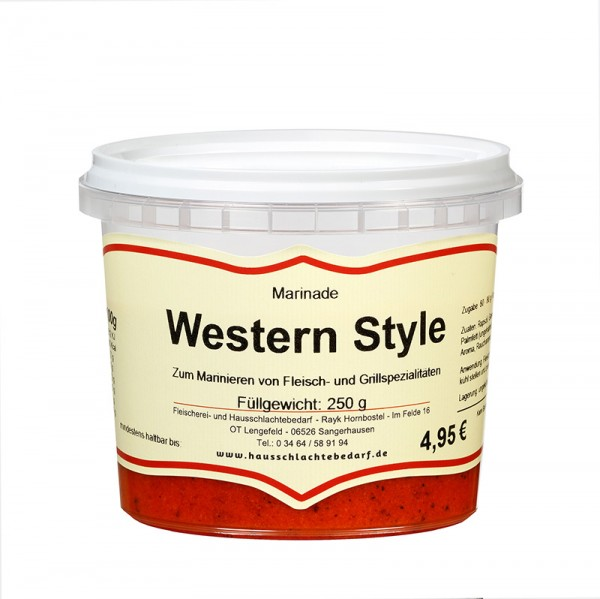 250 g Marinade Western Style