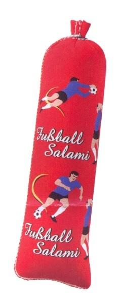 Textildarm mit Druck T 90 - Die Fussball - Salami Kaliber: 55/25