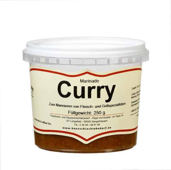 250 g Marinade Curry