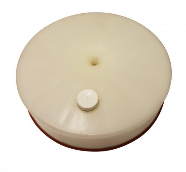 Druckplatte - Kolbenplatte für Wurstfüller der Firma Trespade 15 Liter