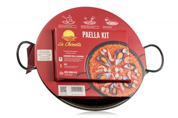"""Paella KIT """"La Chinata"""" - komplett KIT für Paella mit Pfanne"""