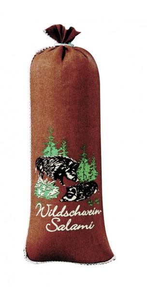 """Textildarm""""Wildschweinsalami"""" Kaliber 55/21"""
