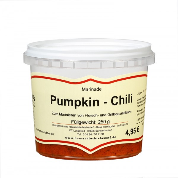 250 g Marinade Pumpkin-Chili
