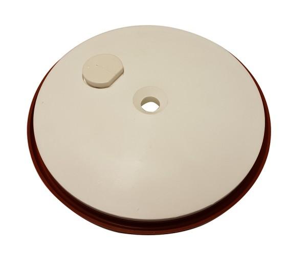 Druckplatte - Kolbenplatte für Wurstfüller der Firma Trespade 3 und 5 Liter