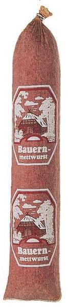 """Textildarm mit Druck """"Bauernmettwurst"""" 60/40"""
