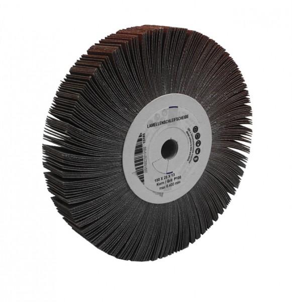 Lamellenschleifscheibe 150 x 25 x 12 mm